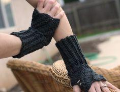Twist Fingerless Glove Pattern : bethsco