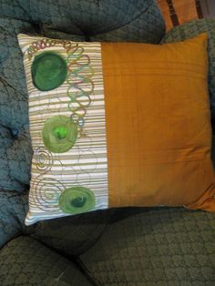 - Needle Punch Pillow