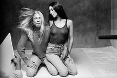 Cher and Greg Allman as  photographed by Norman Seeff mid 70's