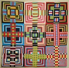 fantast fiber, contemporari quilt, quilt inspir, maria shell, danc parti, tamara hous, house quilts, dance, stripe