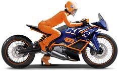 KTM Racing Motorcycle