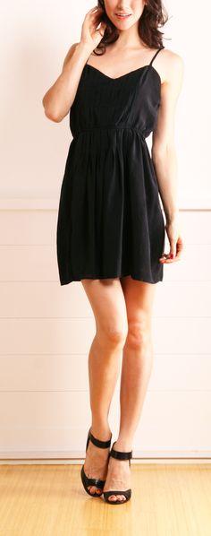Twelfth St. by Cynthia Vincent Cami Mini Dress in Black