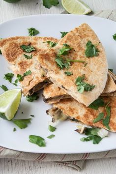 Recipe: Morel Mushroom & Leek Quesadillas with Goat Cheese — Recipes from The Kitchn