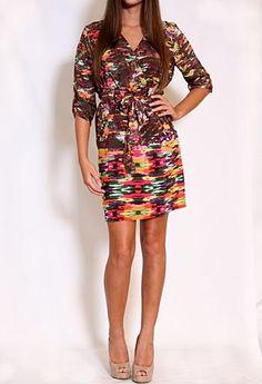 Elm Silk Printed Dress #privategallery #PGWishlist