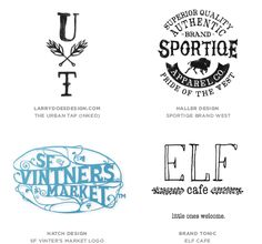2014 Logo Trends :: Hand Type