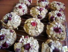 Cranberry Banana Muffins   Britt's Blurbs