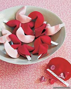 Valentine Candy Fortune Cookies