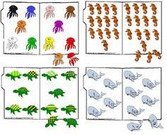 Free printables - file folder games!