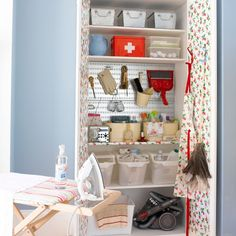 tidy broom closet