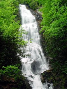 mingo falls - cherokee, north carolina