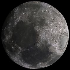 Moon DEM With Satellite Imagery Overlay by Kevin M Gill