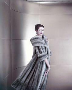 retro mink coat