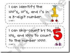 2nd grade Common Core Kid-friendly posters