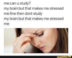 stressed, lol