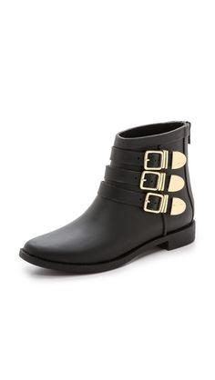 chic rain booties