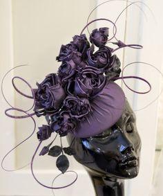 Custom Hat by Rachel Trevor-Morgan, London. Photo by LInda Davidson #Hat #Linda_Davidson #Rachel_Trevor_Morgan