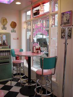 diner! vintage diner, chair, soda fountain, shop, dream, retro diner, diners, perfect retro, kitchen