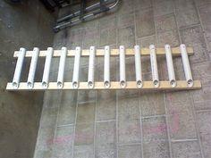 do it yourself pvc fishing rod holder | Homemade Fishing Rod Holders Wall