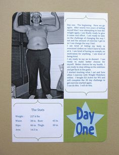 Fitness Journal - January by craftyearth, via Flickr