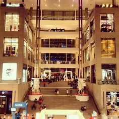Pavillion Kuala Lumpur shopping mall - love that unaffordable place :)