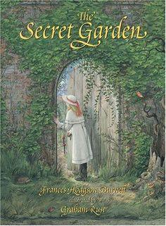 The Secret Garden by Frances Hodgson Burnett.