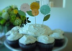 cupcake and cake toppers.