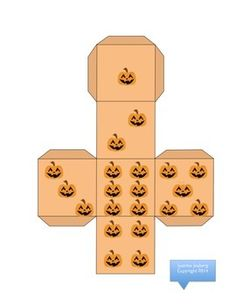 Free! Halloween Roll the Dice fun!