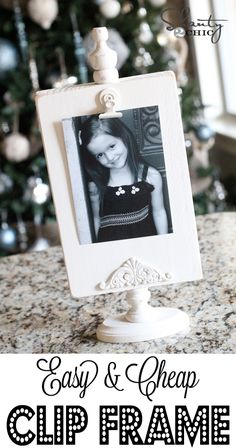 Easy & Cheap DIY Clip Displays at Shanty-2-Chic.com // Perfect #gift idea for #Christmas !!