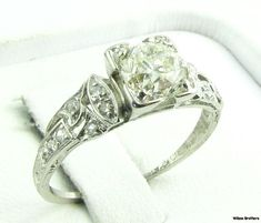 Love vintage engagement rings
