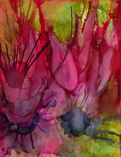 Wildflowers Painting  - Wildflowers Fine Art Print