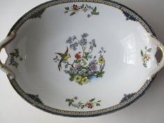 Vintage Noritake Modesta Bird and Flowers Serving by thechinagirl, $17.50