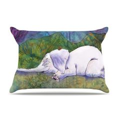 Kess InHouse 36 by 20-Inch Catherine Holcombe Ernie's Dream Pillow Case, King by Kess InHouse, http://www.amazon.com/dp/B00ED0RYM0/ref=cm_sw_r_pi_dp_QFAgsb1P3968J