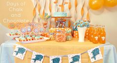 birthday parties, orang goldfish, goldfish birthday, first birthdays, goldfish party