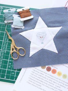 Home 50 states stitchnig project week 1