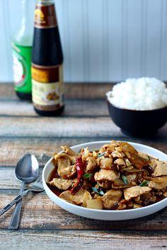 Thai Chicken with Cashews