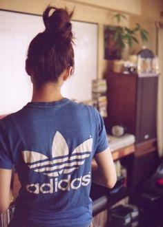 old school Adidas shirt!