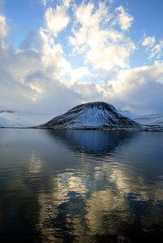 Skutulsfjörður fjord - Isafjordur, Iceland