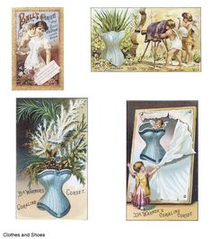 Welcome to Dover Publications Old-Time Trade Cards