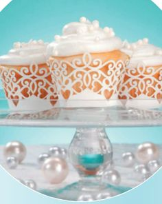 David Tutera Wedding Cupcake Wrappers