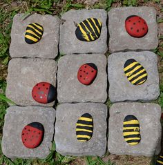 Garden Tic - Tac - Toe game. What fun to have!