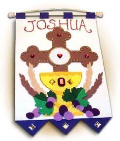 "First Communion Banner Kit - 9"" x 12"""