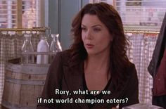 yes, yes they are. love gilmore girls!