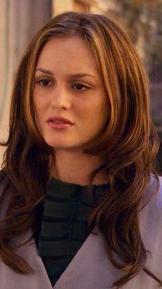 Blair Waldorf hair style
