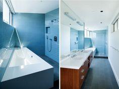 Blue Bath by Walker Workshop, Remodelista