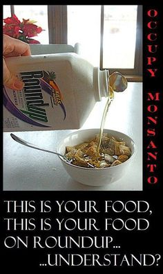 No More RoundUp Ready GMO Crops! Tell the USDA: No More Crops Engineered for Monsanto's Toxic agrochemicals! http://www.organicconsumers.org/articles/article_26210.cfm