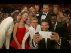 Oscar Selfie Ellen | The Moment the Most Famous SELFIE Ever Was Taken | Oscar 2014 [FULL]