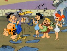 The Flintstones and The Rubbles