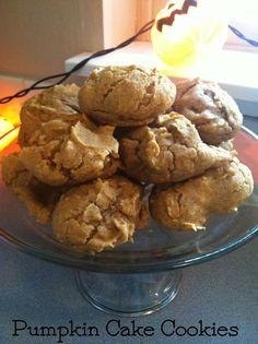 Where's June Cleaver when you need her?: pumpkin cake cookies