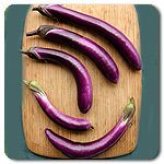 Organic Ping Tung Long Eggplant