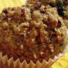 Muffins au son d'avoine et aux bleuets @ qc.allrecipes.ca
